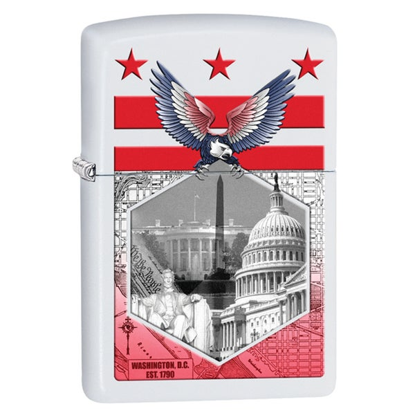 Zippo Washington DC Windproof Lighter