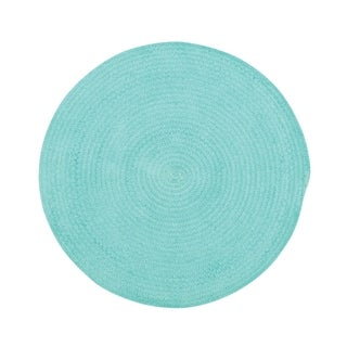 """Brindille Chenille Made to Order Rug Island Blue (36"""")"""
