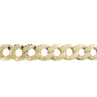Regalia Women's Casting 10k Yellow Gold Chain Link Bracelet