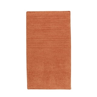 Brindille Chenille Made to Order Rug Cantaloupe (2' x 3')