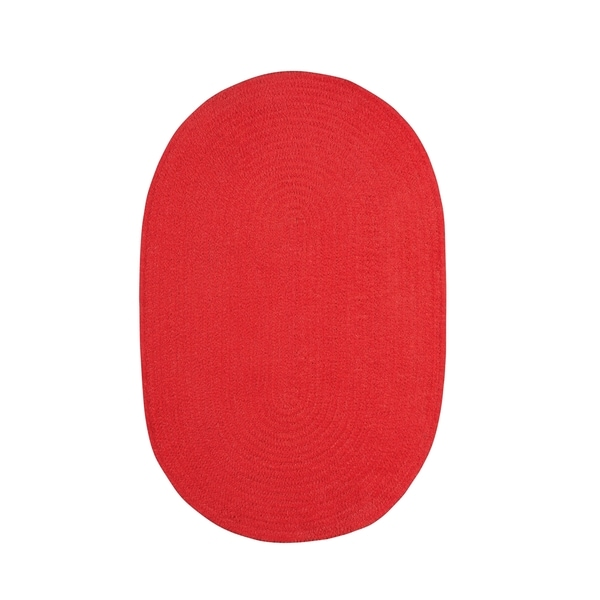 Shop Brindille Chenille Oval Made To Order Rug Cardinal