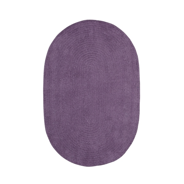 Shop Brindille Chenille Oval Made To Order Rug Wisteria