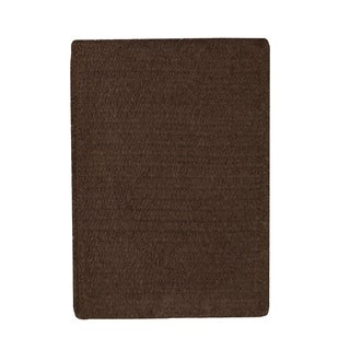 Brindille Chenille Rug Chocolate (3' x 3')