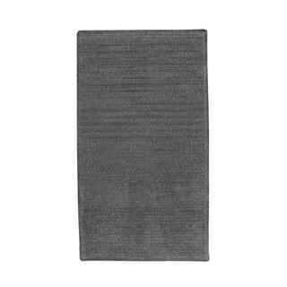 Brindille Chenille Rug Cinder (3' x 3')