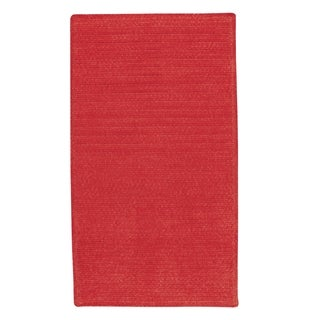 Brindille Chenille Rug Cardinal (3' x 3')