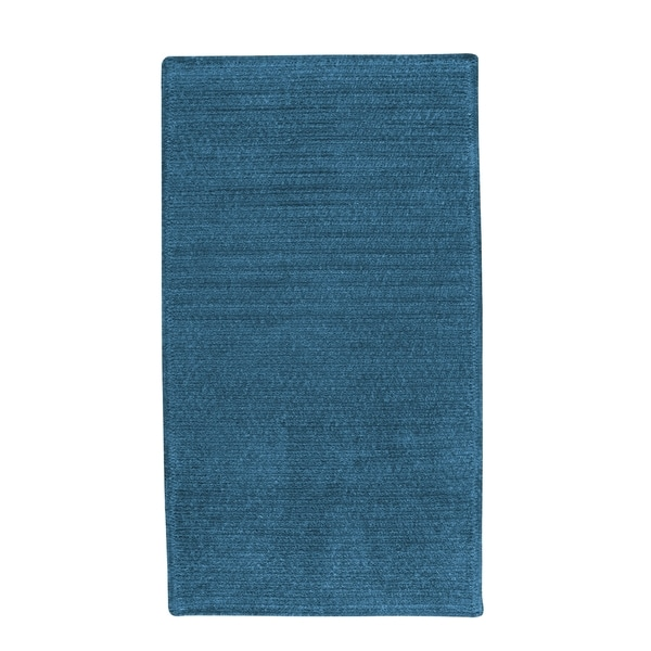 Brindille Chenille Made to Order Rug Azure - 3' x 3'