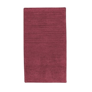 Brindille Chenille Made to Order Rug Rose (3' x 3')