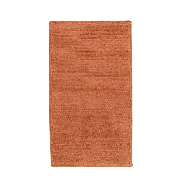Brindille Chenille Made to Order Rug Cantaloupe - 3' x 3'