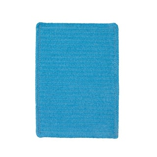 Brindille Chenille Made to Order Rug Blue (3' x 5')