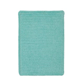 Brindille Chenille Made to Order Rug Island Blue (4' x 6')