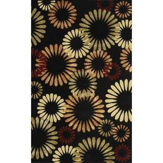 Noble House Inc Citadel Hand-tufted Wool and Viscose Rug (8' x11')