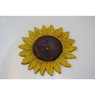 Sunflower Yellow Aluminum Stepping Stones