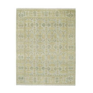 """Dublin Hand Knotted Rug Sterling (5' 6"""" x 8' 6"""")"""