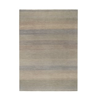 Ginnifer Hand Knotted Rug Light Beige (6' x 9')