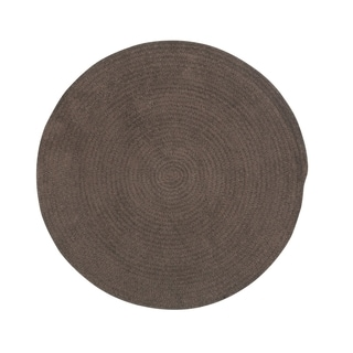 "Brindille Chenille Rug Chocolate (7' 6"")"