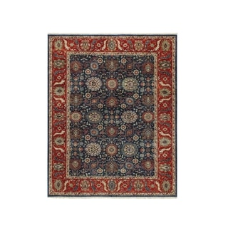 Istanbul Hand Knotted Rug Blue (8' x 10')