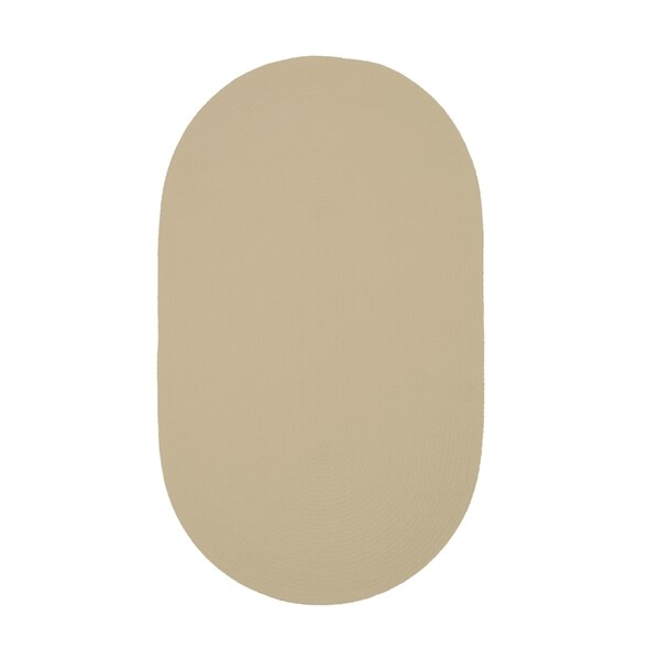Brindille Chenille Oval Made to Order Rug Coffee - 8' x 11'