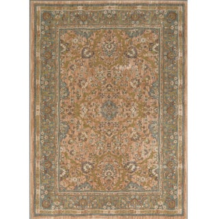 Mohawk Home Farber Spice Traditional Beige Nylon Area Rug (8' x 10')