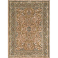 Mohawk Home Farber Spice Traditional Beige Nylon Area Rug - 8' x 10'