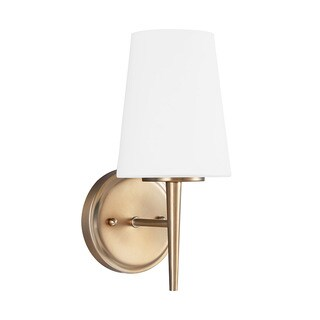 Sea Gull Dricoll 1 light Satin Bronze Wall/Bath Sconce