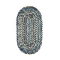 Karter Made to Order Braided Rug Azure - 8' x 11'