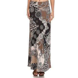 Women's Animal Tapestry Maxi Skirt