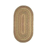 Karter Made to Order Braided Rug Yellow - 8' x 11'