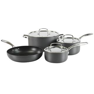 Hamilton Beach Grey Hard-anodized/ Stainles Steel Aluminum Classic 7-piece Quantanium Cookware Set|https://ak1.ostkcdn.com/images/products/13133695/P19862737.jpg?impolicy=medium