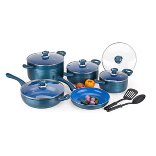 12-piece Aluminum Ceramic-coated Cookware Set