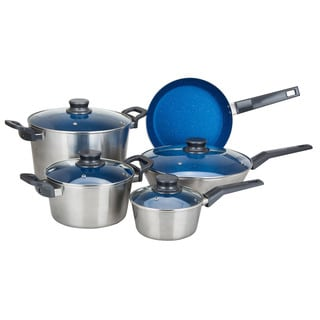 9-piece Nonstick Aluminum Cookware Set