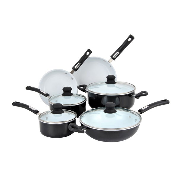 Shop Hamilton Beach Aluminum Ceramic Non Stick 10 Piece