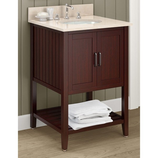 inch wide marble sink top with 24 inch espresso wood bathroom vanity