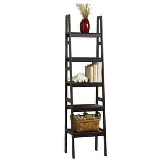 Lewis Hyman 5-tier Ladder Accent/Storage Shelf Black Finish