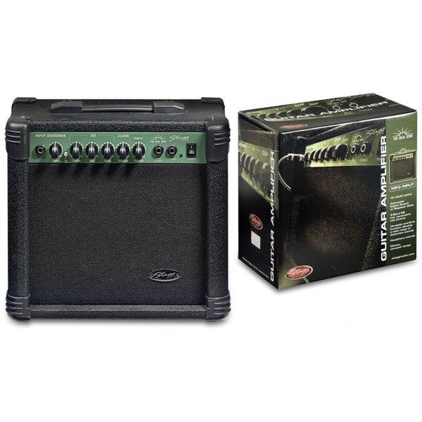 Stagg 15 GA DR USA Electric Guitar Amplifier with Digital Reverb