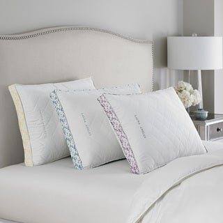 Laura Ashley Ava Down-Alternative Microfiber Bed Pillow