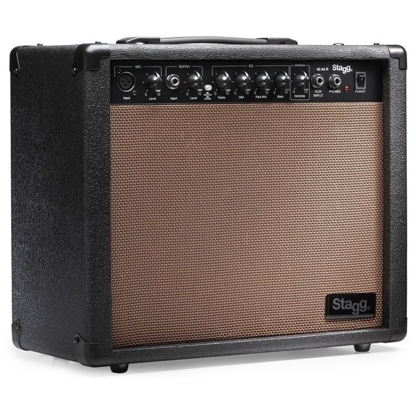 shop stagg 40 aa r usa acoustic guitar amplifier with spring reverb free shipping today. Black Bedroom Furniture Sets. Home Design Ideas