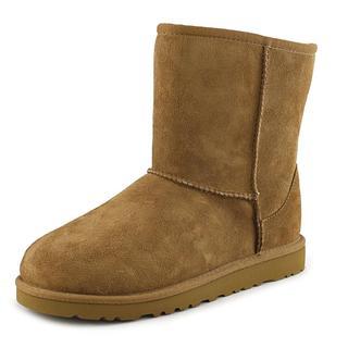Ugg Australia Girls' Kids Classic Tan Suede Boots