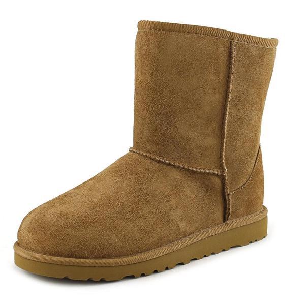 7afb3c90fda Shop Ugg Australia Girls' Kids Classic Tan Suede Boots - Free ...