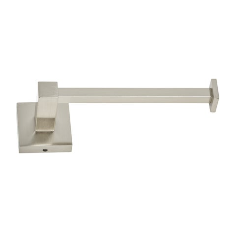 Italia Capri Brushed Nickel Toilet Paper Holder
