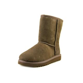 Ugg Australia Girls' Kids Classic Brown Suede Boots