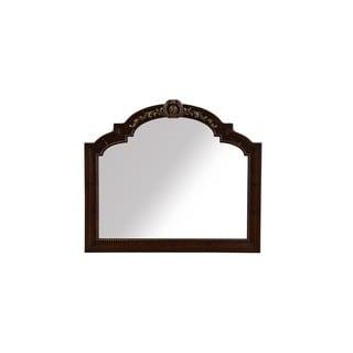 A.R.T. Furniture Valencia Dark Oak Wood and Veneer Landscape Mirror
