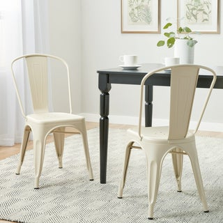 Tabouret Bistro Cream Dining Chairs (Set of 2)