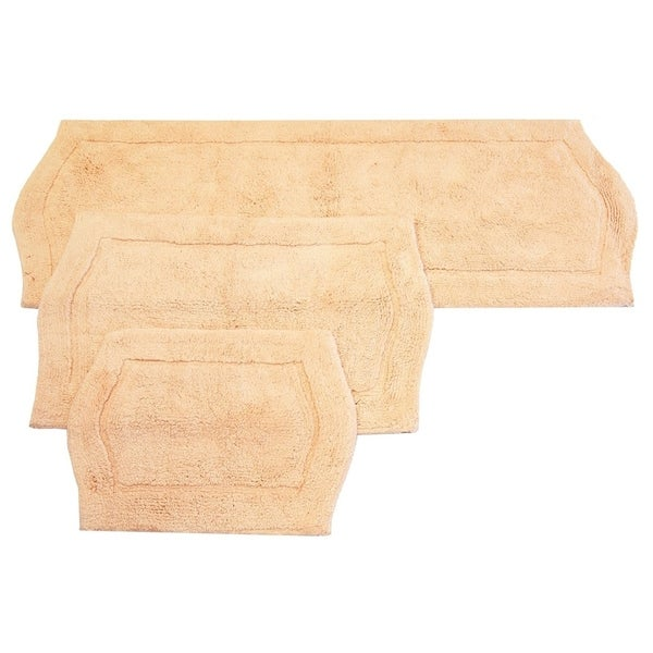 Waterford 3-piece Linen Bath Rug Set