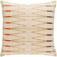 Decorative Sarreguemines Feather Down or Poly Filled Pillow