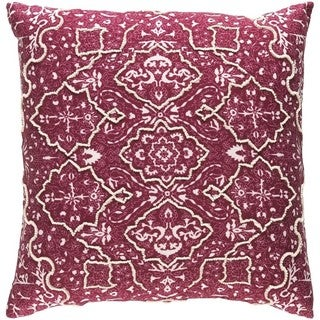 Decorative Saintes Down or Poly Filled Pillow. Applique Mid Century Home Goods   Overstock com Online Store For