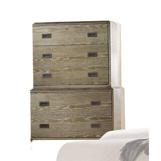 Acme Furniture Athouman Weathered Oak Wood 5-drawer Chest