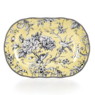 Adelaide Yellow 14-inch Oval Platter