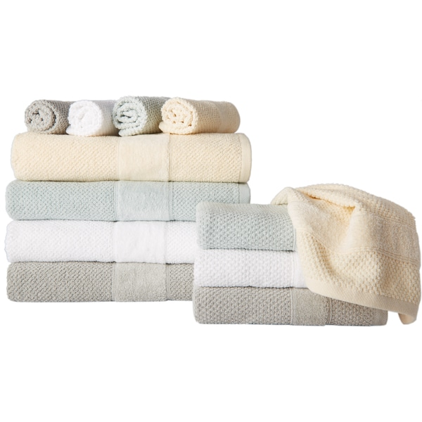Monaco Luxury Platinum Collection 6-Piece Towel Set