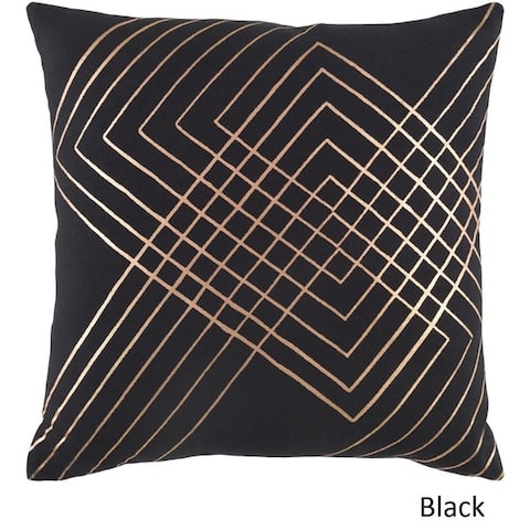 Decorative Rosa Feather Down or Poly Filled Pillow
