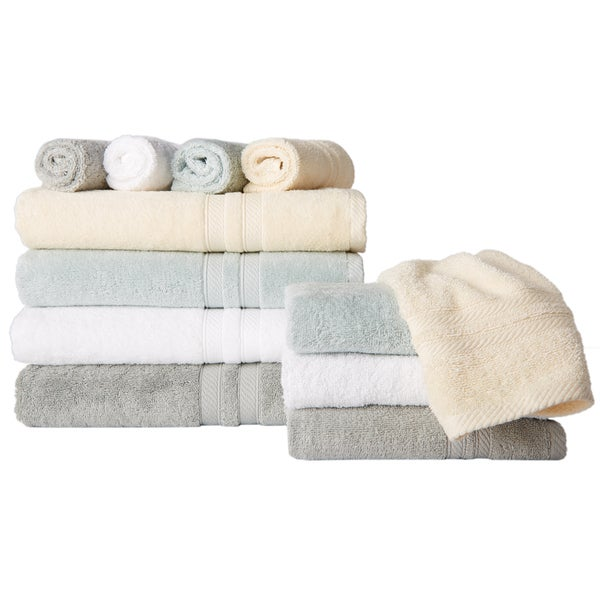 Bali Luxury Platinum Collection 6-Piece Towel Set